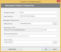 Managed projects